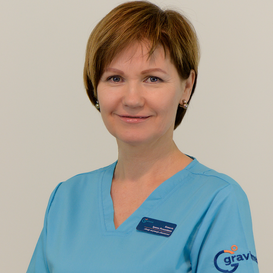 Ірина Коваль лікар акушер-гінеколог в клініці Гравімед (Київ, Оболонь)