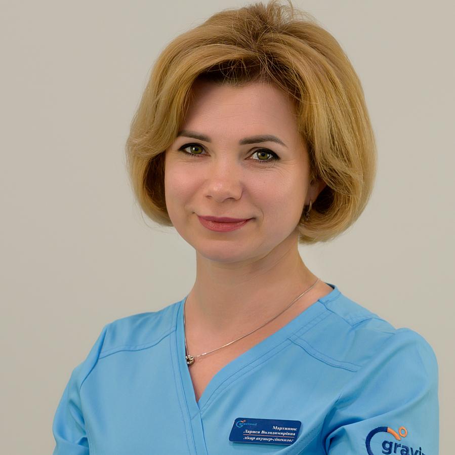 Мартынюк Лариса Владимировна Прием акушера-гинеколога в клинике Гравимед (Киев, Оболонь)